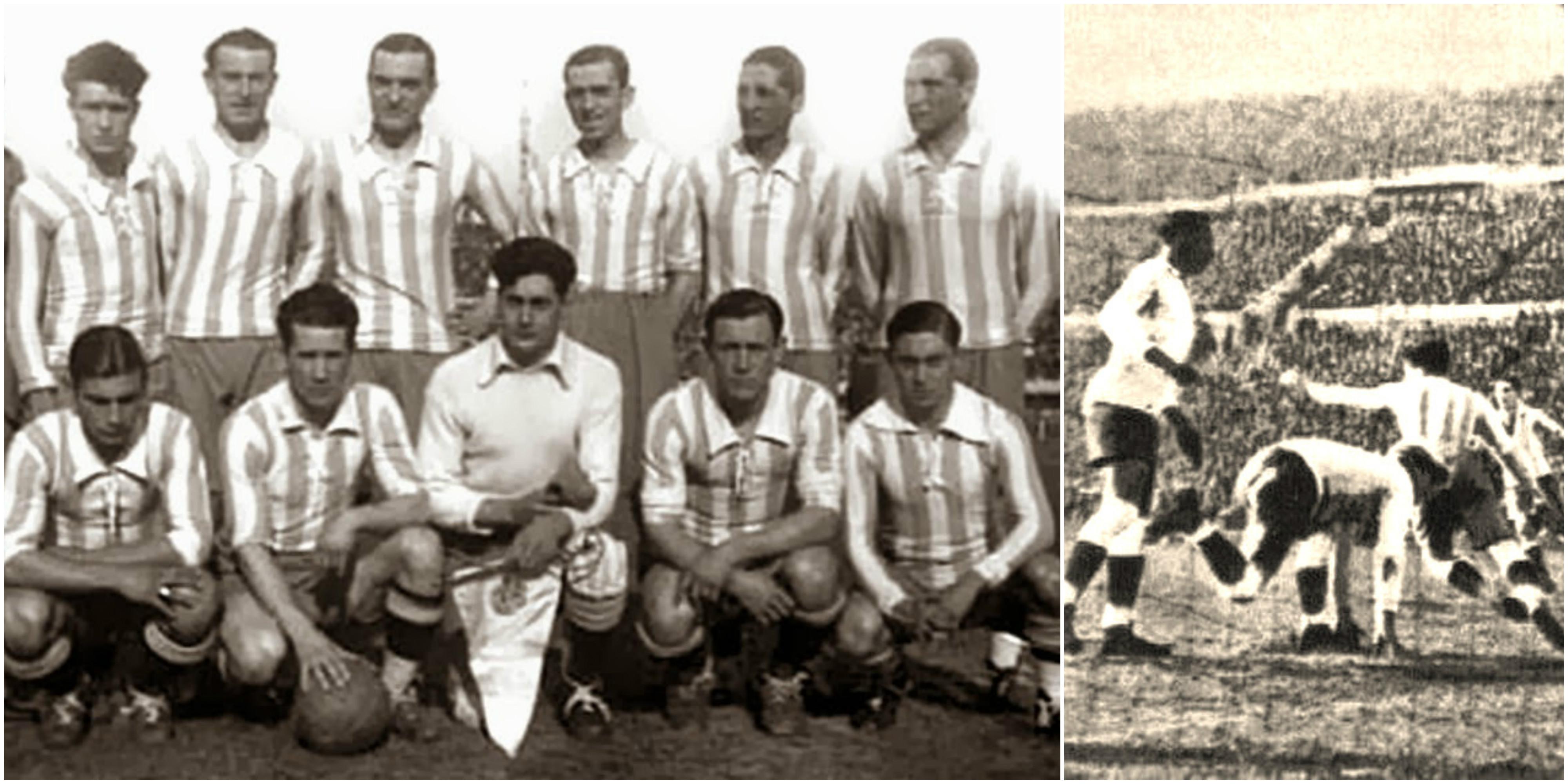 1930 Uruguay se qued³ con la final del Ro de la Plata